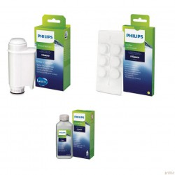 SAECO zestaw odkamieniacz filtr tabletki