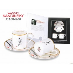 Kpl. filiżanek do espresso Wassily Kandinsky 046-0102