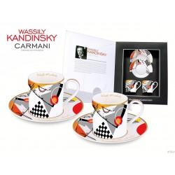 Kpl. filiżanek do espresso Wassily Kandinsky 046-0108