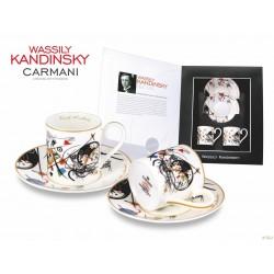 Kpl. filiżanek do espresso Wassily Kandinsky 046-0104