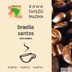 Kawa Świeżo Palona BRASILIA SANTOS 1 kg